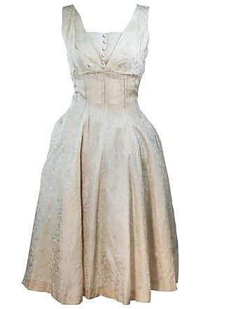 7b1c9615849 1stdibs 1960s Cream Brocade Cocktail Dress Size 4-6