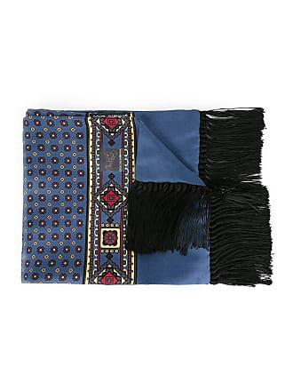 Dolce & Gabbana Lenço de seda - Azul