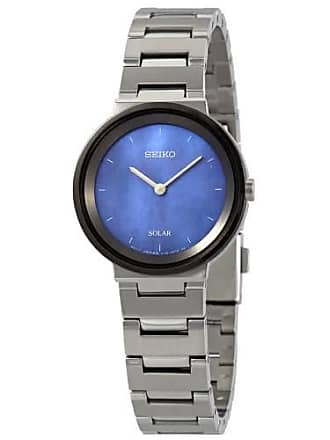 Seiko Essentials Blue Mother of Pearl Dial Ladies Watch SUP385