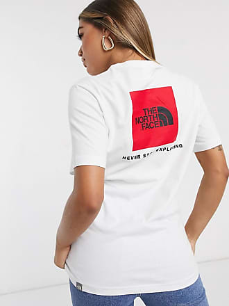 The North Face Red Box - Weißes T-Shirt
