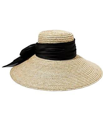 47bf7f38d1829 Eugenia Kim Mirabel Satin-trimmed Straw Hat - Beige