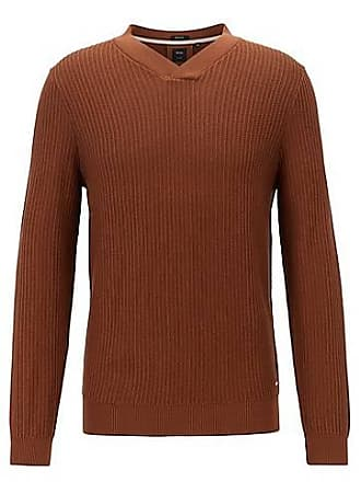 61f15586b HUGO BOSS V-Neck Jumpers: 28 Products | Stylight