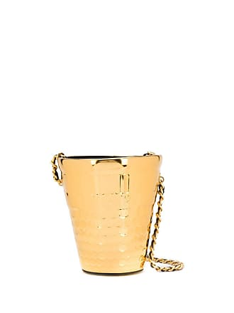 Moschino metal bucket bag - Gold