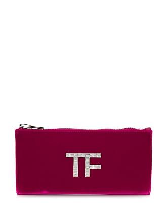 Tom Ford Clutch de veludo - Rosa