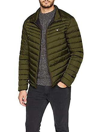 fe5b04c7f4 GANT O1. The Airlight Down Jacket, Giacca Uomo, Verde (Moss Green)