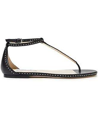 f7c16daa3 Jimmy Choo London Jimmy Choo Woman Afia Studded Leather Sandals Black Size  37