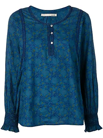 Cotélac patterned tunic - Blue