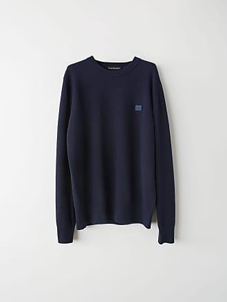 Acne Studios FA-UX-KNIT000008 Navy blue Crewneck sweater