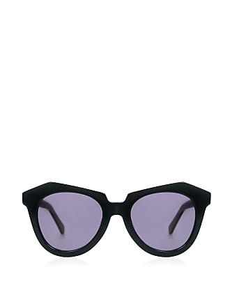 e3bc254092 Karen Walker Number One Oversized Sunglasses Black