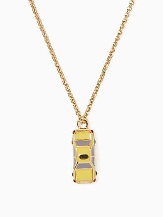 Kate Spade New York Ma Chérie Taxi Mini Pendant, Yellow