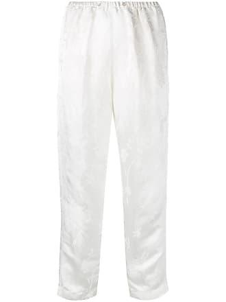 Forte_Forte Calça reta - Branco
