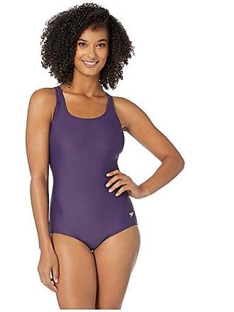 2f842da44e Speedo Moderate Ultraback One-Piece (Gravity) Womens Swimsuits One Piece