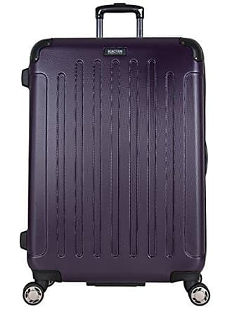 Kenneth Cole Reaction Kenneth Cole Reaction Renegade 28 Hardside Expandable 8-Wheel Spinner Checked Luggage, Deep Purple