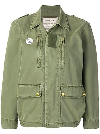 Zadig & Voltaire Kid Mili Parka jacket - Green