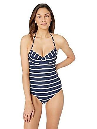 551732dff616c1 Shoshanna Womens Marine Stripe Underwire One Piece, Navy/White, 0