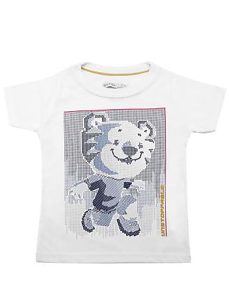 Tigor T. Tigre Camiseta Tigor T. Tigre Menino Estampado Branca