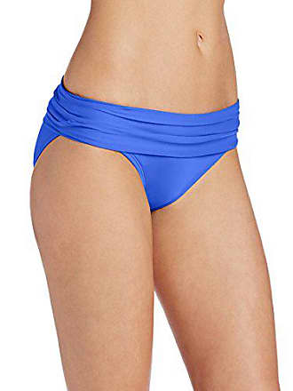 77e2d21925f63 La Blanca Womens Island Goddess Shirred Band Hipster Bikini Swimsuit Bottom,  Blue Suede, 6