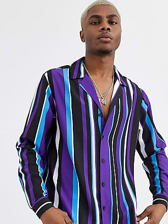 Reclaimed Vintage multi stripe shirt