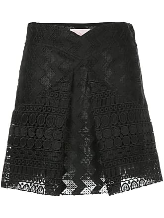 Giambattista Valli inverted pleat skirt - Black