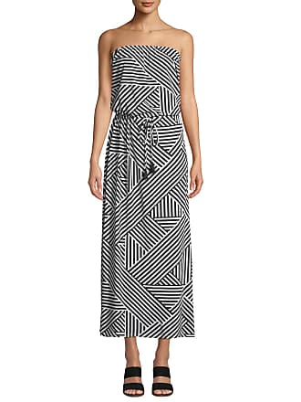 956fe21d1db Tommy Bahama Fractured Stripe Bandeau Maxi Dress