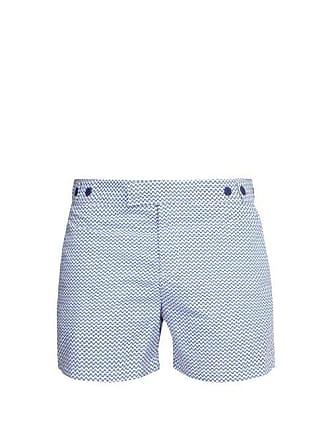 bc1f91a4c7 Frescobol Carioca Copacabana Tailored Swim Shorts - Mens - Blue
