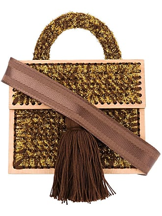 0711 Rene Copacabana purse - Brown
