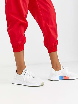 adidas Originals Deerupt - Sneaker in Weiß und Schwarz