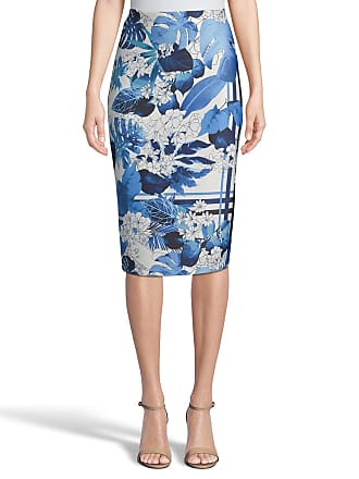 5twelve Mixed-Print Scuba Pencil Skirt