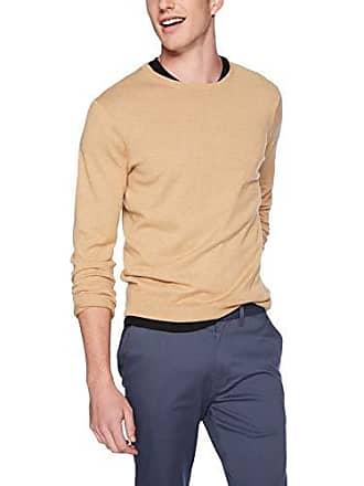 J.crew Mens Crewneck Sweater, Heather Honey, S