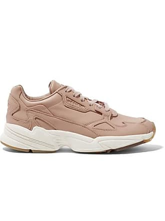adidas Originals Falcon Leather Sneakers - Sand