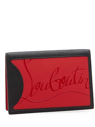 Christian Louboutin Mens Empire Two-Tone Leather Wallet