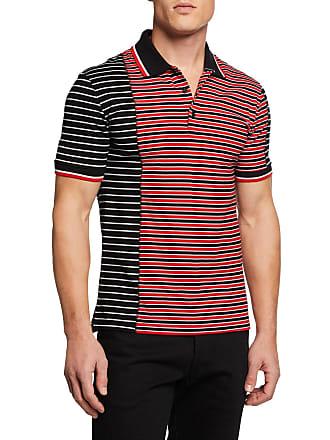 a00a54229 Givenchy Mens Asymmetrical-Stripes Slim-Fit Polo Shirt