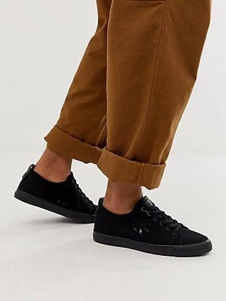 b937c5785f5 Calvin Klein Arnold logo plimsolls in black - Black