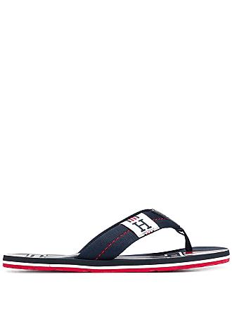 5f1ef70a91d6 Tommy Hilfiger monogram flip flops - Blue