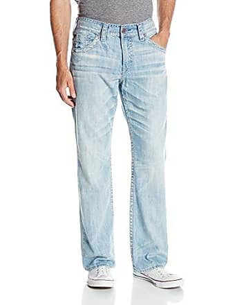 Silver Jeans Co Silver Jeans Mens Gordie Light Wash Jean, Indigo, 36x34