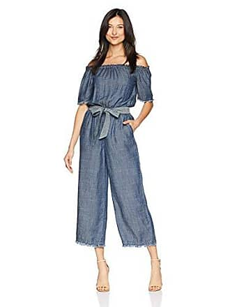 34891d37532 Trina Turk Womens Key 2 Off The Shoulder Cropped Leg Jumpsuit