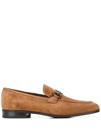 Salvatore Ferragamo Gancini loafers - Brown