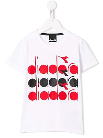 Diadora logo printed T-shirt - Branco