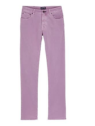 Vilebrequin Men Ready to Wear - Men regular fit velvet pants - JEANS - GBETTA18 - Purple - 36 - Vilebrequin