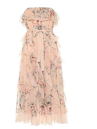 Zimmermann Printed silk midi dress