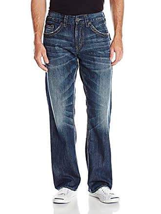 Silver Jeans Co Silver Jeans Mens Gordie Flap Jean, Indigo (Discontinued) 40x30