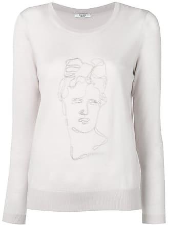 PESERICO Suéter com bordado - Rosa