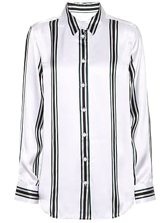 Equipment Essential striped silk shirt