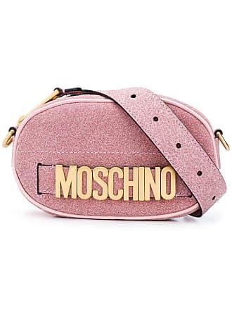 Moschino logo belt bag - Pink
