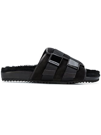 Tom Ford buckle open-toe sandals - Black
