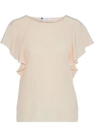 Lanvin Lanvin Woman Silk Crepe De Chine Blouse Blush Size 40