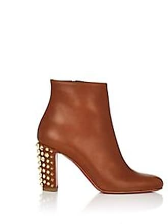 2df88bd96ef4 Christian Louboutin Womens Suzi Leather Ankle Boots - Cuoio Size 6.5