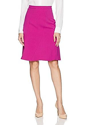 Ellen Tracy Womens Seamed Skirt, Viola 6