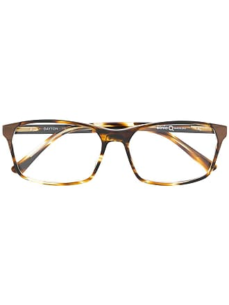 Etnia Barcelona square frame glasses - Marrom