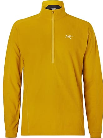 Arcteryx Veilance Delta Lt Polartec Fleece Base Layer - Chartreuse